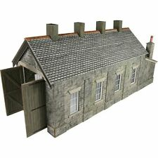 METCALFE CARD KIT OO PO332 ENGINE SHED SINGLE TRACK STONE BUILT METP0332