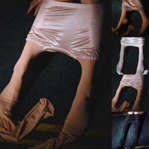 High-Gloss Pantyhose Tights Elastic Oil Shiny Glossy Stockings Hosiery Fashion