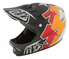 Troy Lee Designs Fusion Adult D2 Bike Sports BMX Helmet - Black / XSmall/Small