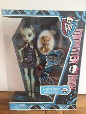 Monster High Frankie Stein poupée Entièrement neuf dans sa boîte d'origine Re-Release Rare Basic first