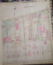 1921 G.M. HOPKINS CLEVELAND OHIO COLUMBIA GRAPHOPHONE CO. COPY PLAT ATLAS MAP