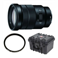 Sony Selp18105g E PZ 18-105mm F4 G OSS Lens With Tiffen 72mm UVP Filter and ACC
