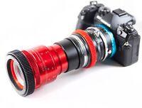 Isco Micro RED Anamorphic Lens PREMIUM SINGLE FOCUS setup, for DSLR Cameras