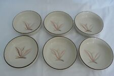 "Vintage Winfield China Dragon Flower Fruit Dessert Bowls 4 7/8"" - SET OF 6"
