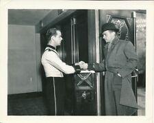 DOUGLAS FAIRBANKS JR CANDID PARACHUTE JUMPER Premiere Vintage '33 Snapshot Photo
