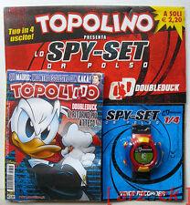 TOPOLINO 2815 blisterato con gadget SPY SET Paperinik Doubleduck (prima uscita)