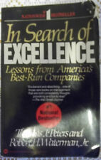In Search of Excellence by Tom Peters and Robert H., Jr. Waterman (Paperback)