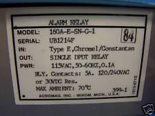 Acromag Alarm Relay 160A-E-SN-G-1