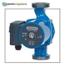 SCR Speroni pompa circolatore acqua calda caldaie legna pellet e termocamini