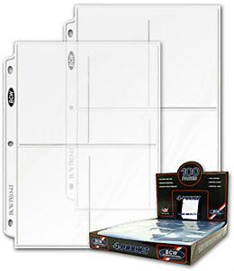 (10) 4 Pocket Coupon Storage Organizer Binder Sheets Pages