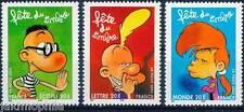 Y&T n° 3751a + 3752 + 3753  Fête du timbre les 3 timbres du carnet 2005  NEUF **