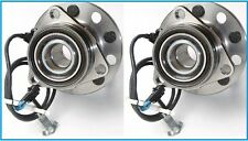 Pair: 2 New DTA Front Wheel Hub and Bearing Assemblies with Warranty AWD Only
