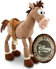 "TOY STORY DISNEY STORE LARGE 17"" DELUXE BULLSEYE PLUSH STUFFED DOLL WOODY HORSE"