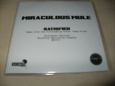 MIRACULOUS MULE - SATISFIED - 2013 PROMO CD SINGLE