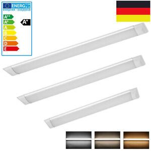 LED 60/90/120/150cm Wannenleuchte Deckenleuchte Feuchtraumlampe Werkstatt Röhre