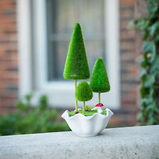 Artificial Plastic Potted Bonsai Forest Plant for Wedding Event Home Decor