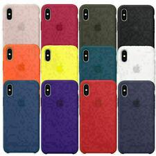 Genuino Original De Silicona Funda Cubierta para Apple iPhone 7 8 11 12 Plus X XS XR UK