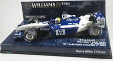 WILLIAMS BMW FW24 #6 Nico ROSBERG F1 2002 test BARCELONA MINICHAMPS 1:43