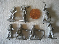 vintage Minifigs PIRATES buccaneers cutlass pistol rpg gaming miniatures LOT 25m