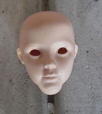 "Vintage Mda M1005 Porcelain Girl Doll Head 4 1/8"" Tall"