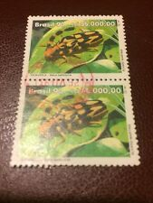 Brasil stamps 1993 USED World Environment Day Beetles part