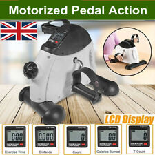 Mini Exercise Bike Arm Leg Resistance Pedal Exerciser Workout Seat Cycling LCD