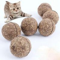 1 x Pet Cat Chew Toys Natural Catnip Healthy Funny Treats Ball For Cats Kitten