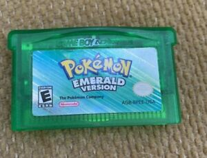 Nintendo Pokemon Emerald Version Gameboy Advance Game Cartridge Only USA Version
