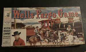 VINTAGE 1959  TALES OF WELLS FARGO Game 100% complete in box NICE! Never Played