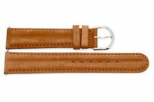 20mm Brown Padded Distressed Leather Watch Band Strap Fossil Vintage Muse