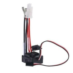1060 Brushed ESC 60A 2-3S LiPo Waterproof Electric Speed Controller for RC 1/10t