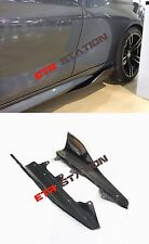 Carbon Fiber Side Skirts Extension Performance Style For BMW F87 M2 Only