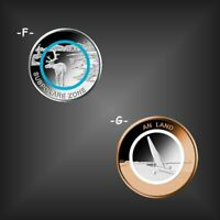Kombi 5 EURO -Subpolare Zone- + 10 EURO -An Land- BRD Deutschland 2020 -F + G-