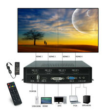 4 Channel Video Processor TV Screens Splicing Video Wall Controller Sport Game
