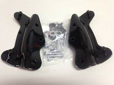 Black 4-Point Docking Kit Harley Electra Glide,Road King,Street Glide,Road Glide