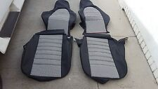 PORSCHE 944 911 951 964 968 85-94 SEAT KIT NEW UPHOLSTERY BLACK/WHT HOUNDS TOOTH