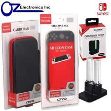 Nintendo Switch Carry Bag + Joy Con Charger + Silicon Case  Zelda Breath Of Wild