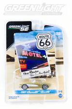 GOLD 1961 CHEVROLET CORVETTE GREENLIGHT 1:64 SCALE DIECAST METAL MODEL CAR