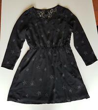 Zwarte jurk print sterren / Large (40) / Only / NIEUW!