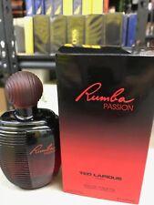 RUMBA PASSION Ted Lapidus Women edt Perfume Spray 3.3 oz 3.4 New In Box