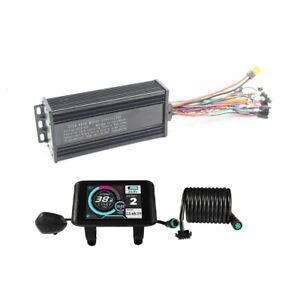 36V-52V 1000W-1500W 35A 3-mode Sine Wave ebike Controller & Colorful LCD Display