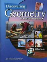 Discovering Geometry: An Investigative Approach , Serra, Michael
