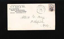 Gay & Co Stationery Confectionary Fancy Goods Pittsfield NH 1890 Cover 7t