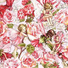 FLOWER FAIRIES~ Sweet Rose Garden~ Michael Miller ~ Girls ~ Fabric ~per 1/2 yard