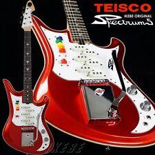 Teisco IKEBE ORIGINAL Spectrum 5 (Metallic Red) guitar From JAPAN/456