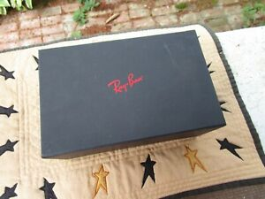 RAY BAN BOX ONLY GOGGLES GLASSES CARDBOARD SUNGLASSES ACCESSORIES
