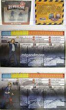Zombicide - Survivor Kris the Repo Man + Zombivor + Identity Card
