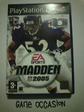 MADDEN NFL 2005 PS2 PLAYSTATION 2 SONY COMPLET PAL