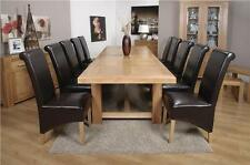 Oak More than 200cm High Fixed Kitchen & Dining Tables