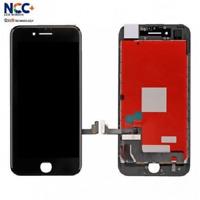 TOUCH SCREEN + LCD DISPLAY PER APPLE IPHONE 7 VETRO NERO NCC COME ORIGINALE